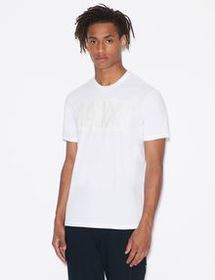 Armani PRESSED TEE WITH GRAPHIC LOGO