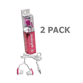 2 Pack - Vibe Juicys Comforty MP3 Earbuds Stereo H