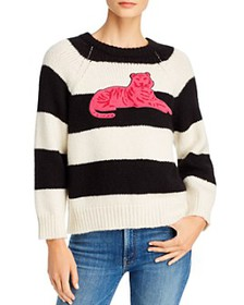 MOTHER - The Boat Square Striped Sweater