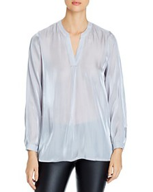 VINCE CAMUTO - Iridescent Long-Sleeve Top