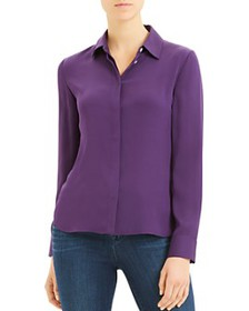 Theory - Classic Silk-Stretch Fitted Shirt