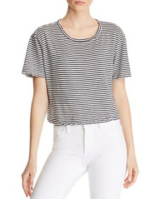 Splendid - Cass Striped Crop Tee