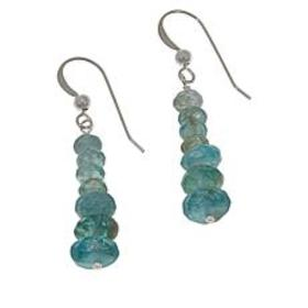 Jay King Sterling Silver Apatite Graduated Drop Ea