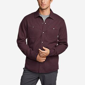 Men's Sherpa-Lined Thermal Shirt