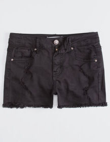RSQ Venice Mid Rise Wash Black Girls Ripped Denim