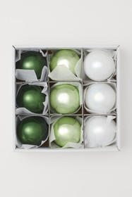 9-pack Christmas Ornaments