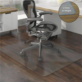 "Zimtown High Quality 59"" x 48"" PVC Chair Mat Hard"