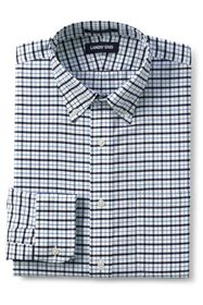 Lands End Men's Big & Tall Pattern No Iron Supima