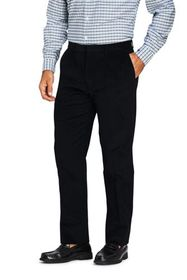 Lands End Men's Traditional Fit Pleat Front Comfor