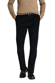 Lands End Men's Tailored Fit Comfort-First Fine Wa
