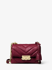 michael michael kors Cece Extra-Small Quilted Leat