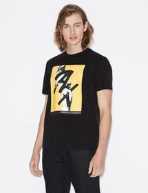 Armani REGULAR FIT T-SHIRT IN MERCERISED COTTON