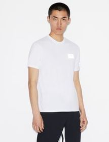 Armani TEE WITH REFLECTIVE LOGO