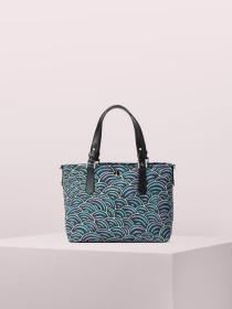 taylor party bubbles small crossbody tote