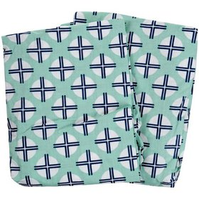 Bacati Noah Tribal Fitted Crib Sheets 2 ct Package