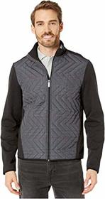 Perry Ellis Quilted Nylon Jacket