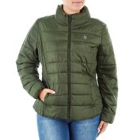 Junior Puffer Jacket with Stand Collar