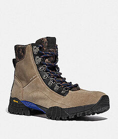 Coach hybrid urban hiker boot with horse and carri