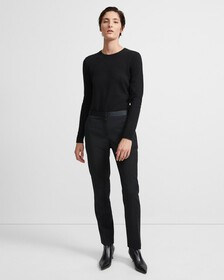 Stretch Wool Tailored Trouser