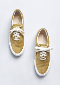 Keds Keds Just Kickin' It Corduroy Sneaker in Yell
