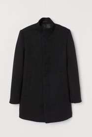 Coat with Stand-up Collar