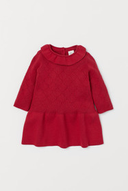 BABY EXCLUSIVE Pointelle Dress