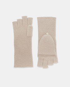 Cashmere Fold Back Gloves