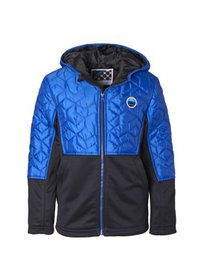 Big Chill Mixed Media Mid Weight Jacket (Little Bo
