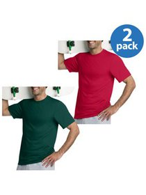 Hanes Men's Short Sleeve Cool DRI Tee, 2 Pack