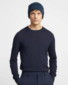 Cashmere Tipped Beanie