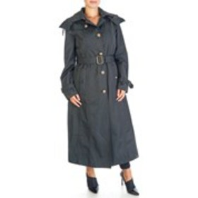 LONDON FOG Quilted Lined Water Proof Trench Coat