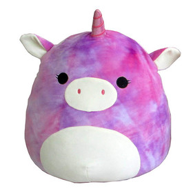 Squishmallow Plush Tie Dyed Unicorn 16 Inch