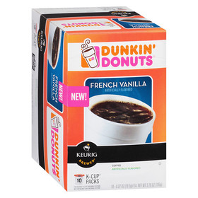 Dunkin' Donuts Coffee K-Cups French Vanilla