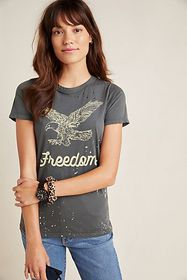 Anthropologie Freedom Graphic Tee