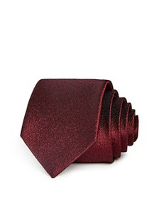Theory - Amherst Roadster Textured Silk Skinny Tie