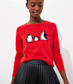Penguin Luxe Knit Sweater