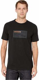 Lacoste Short Sleeve Rubber Label Life Tee