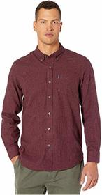 Ben Sherman Long Sleeve Brushed Dogtooth Shirt