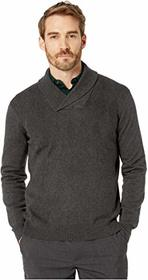Perry Ellis Argyle Shawl Collar Long Sleeve Sweate