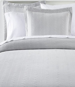 LL Bean Cable Stitched Matelasse Bedspread