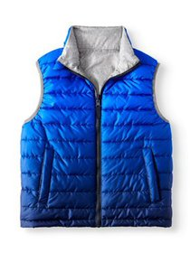 Wonder Nation Reversible Puffer Vest (Little Boys,