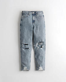 Hollister Vintage Stretch Ultra High-Rise Mom Jean