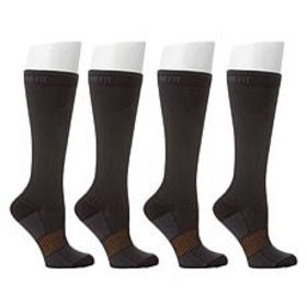 """As Is"" Copper Fit™ Easy On/Off Compression Socks"