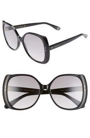 Gucci 56mm Gradient Butterfly Sunglasses