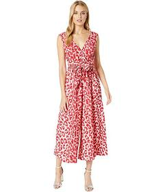 Kate Spade New York Panthera Tie Waist Jumpsuit