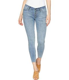 Free People Reagan Raw Jeans