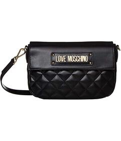 LOVE Moschino Shinny Quilted Bag