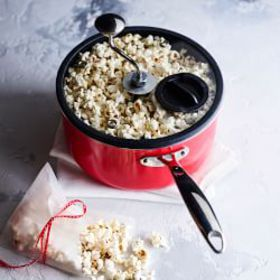 Zippy Nonstick Popcorn Maker, 5 1/2-Qt., Red