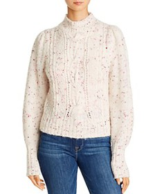 Rebecca Taylor - Cable Knit Turtleneck Sweater