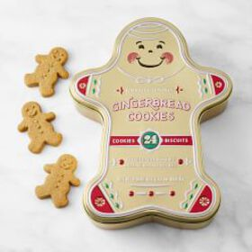 Gingerbread Tin With Cookies